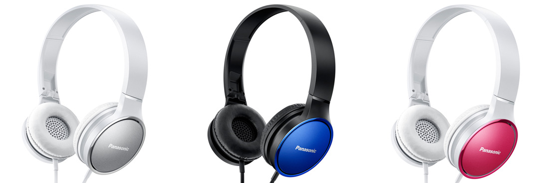 Audífonos HF de Panasonic, sonido potente que se adapta a la moda actual