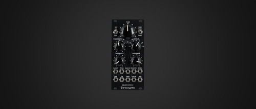 Erica Synths Announces Black VCO2 Eurorack Module