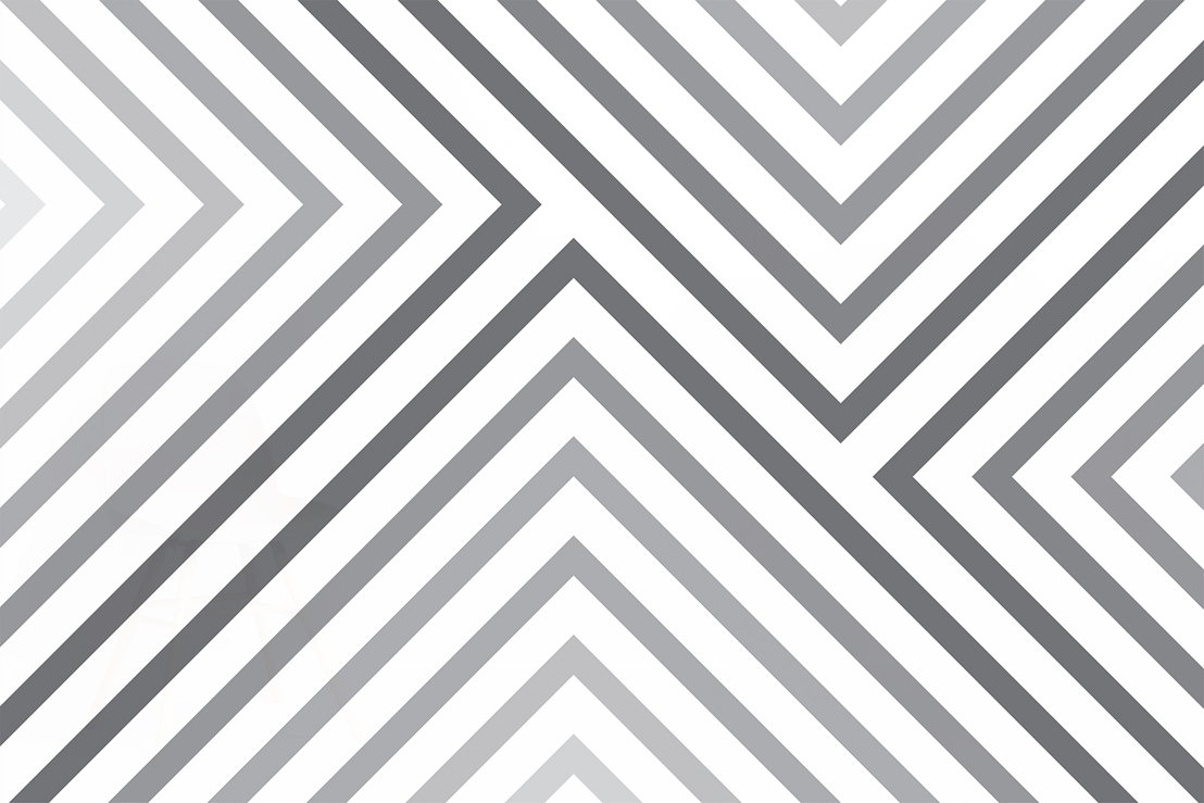 Cypress Grey Striped Mural - Swatch