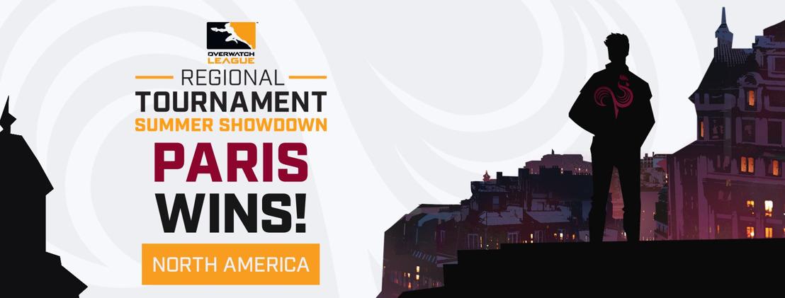 Overwatch League : l'équipe française Paris Eternal remporte le Summer Showdown occidental