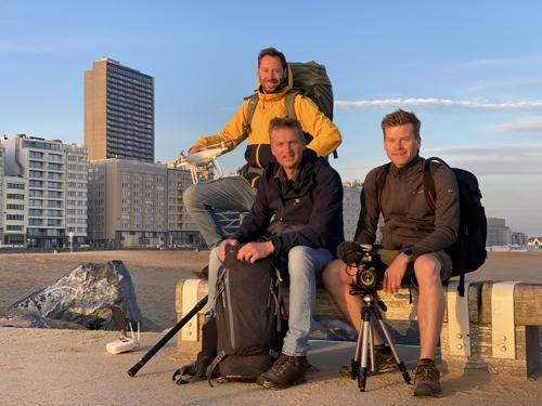 Arnout Hauben vertrekt op reis 'Dwars door de Lage Landen'