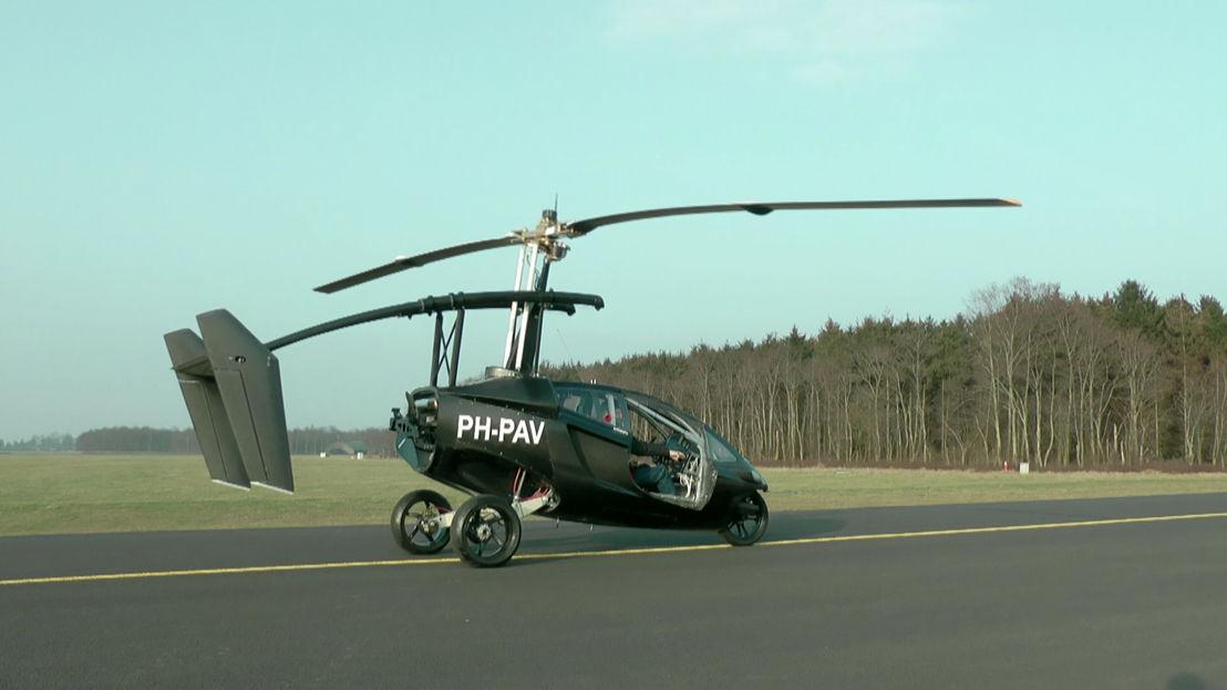 WRDW: Vliegende auto (afl 4) - (c) VRT