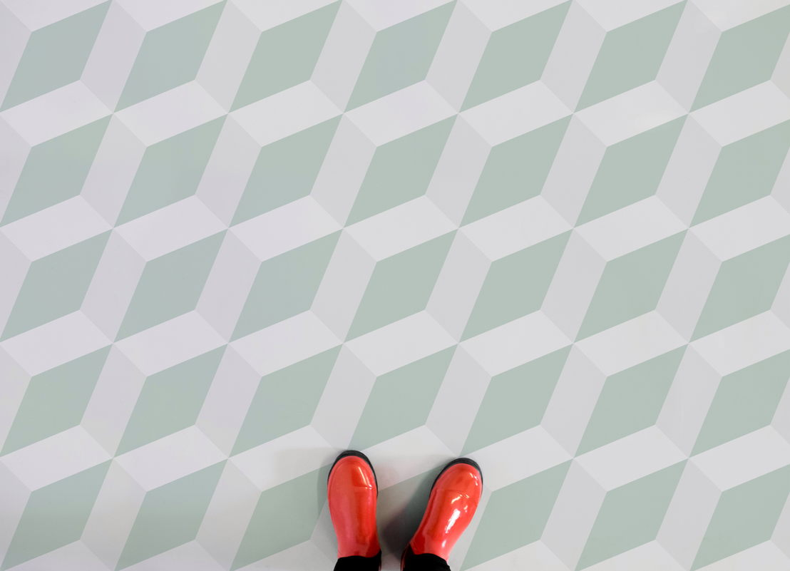 Flex |   <br/>Slanted Cube Flooring