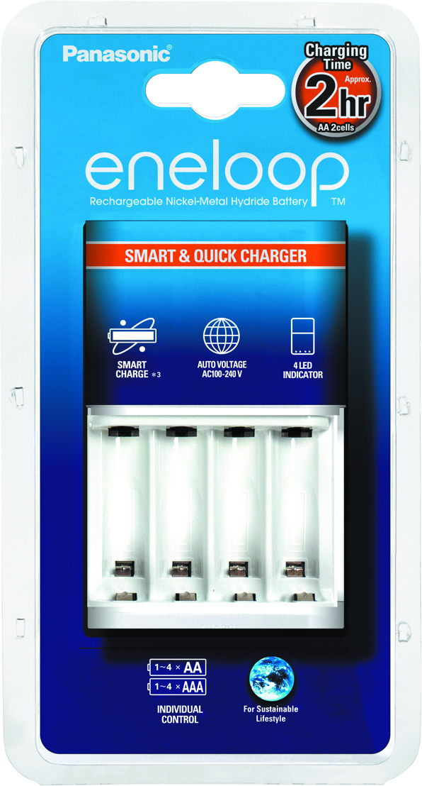 eneloop battery charger