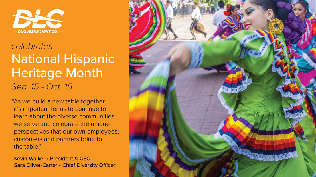 Join Duquesne Light Company in Celebrating National Hispanic Heritage Month