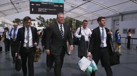 Panorama : Een paar graden minder -/ Al Gore - (c) VRT