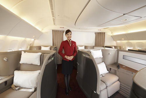 Cathay Pacific unveils rejuvenated First Class product with fresh new look and additional features