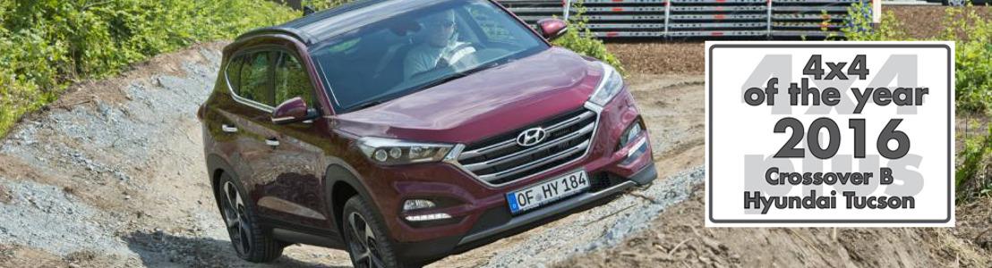 Hyundai Tucson wint titel Crossover van het Jaar 2016