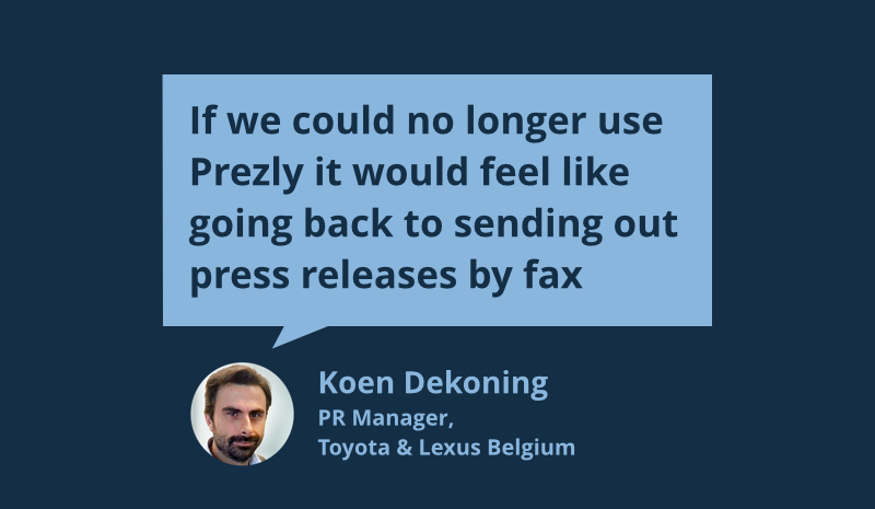 Quote by the spokesperson of Toyota