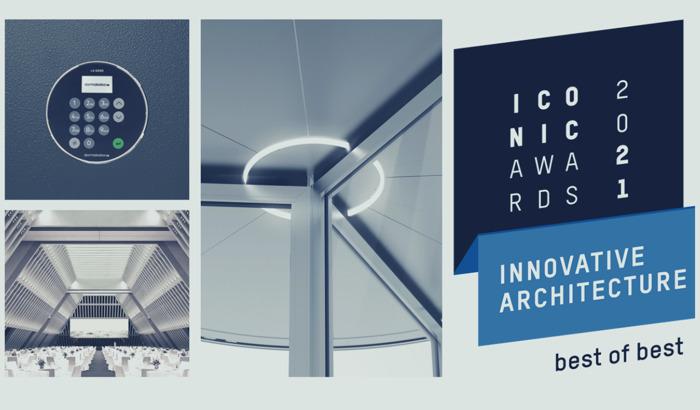 Preview: dormakaba mit vier ICONIC AWARDS 2021: Innovative Architecture ausgezeichnet