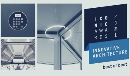 dormakaba mit vier ICONIC AWARDS 2021: Innovative Architecture ausgezeichnet