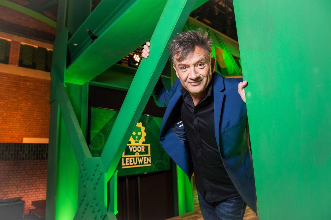 Voor de leeuwen (c) Joost Joossen- VRT