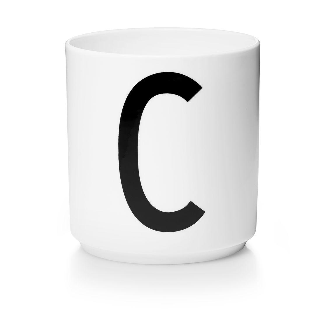 Design Letters Aj porseleinen mok - C €15,50