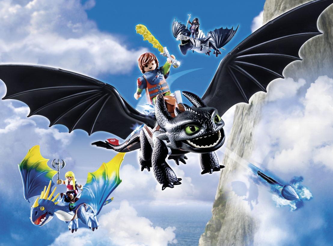 Harold et les Dragons<br/>Il faudra attendre jusqu'au 18 août. Vols à dos de dragon permis à partir de 4 ans.