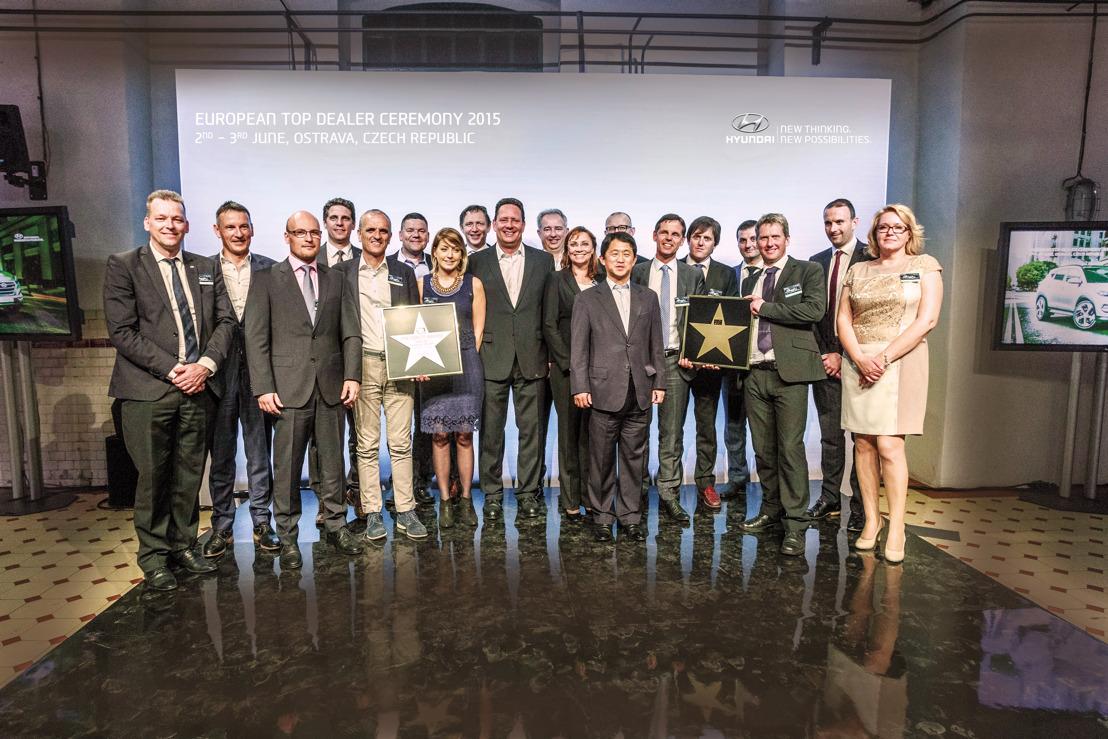 Hyundai distingue les meilleurs concessionnaires européens