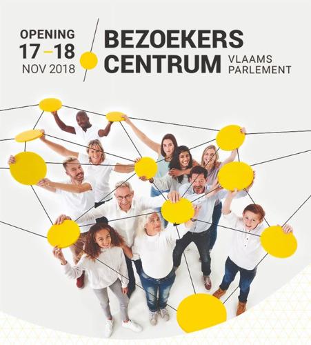 Vlaams Parlement pakt als eerste uit met een interactief en digitaal Bezoekerscentrum