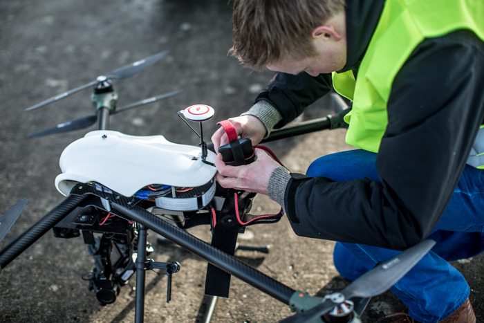 Innovative Belgian IDRONECT platform prepares Belgium for a pioneering role in the 'drone economy'