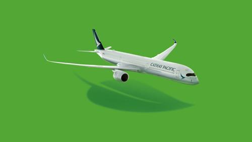 國泰航空承諾於2050年前達至淨零碳排放