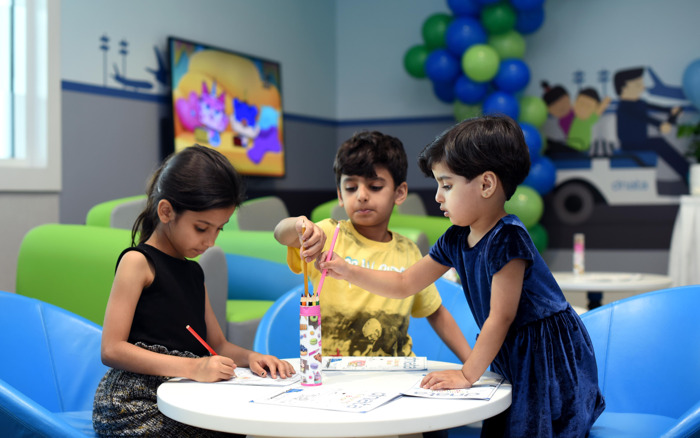 Preview: dnata opens brand new lounge for young flyers in Dubai