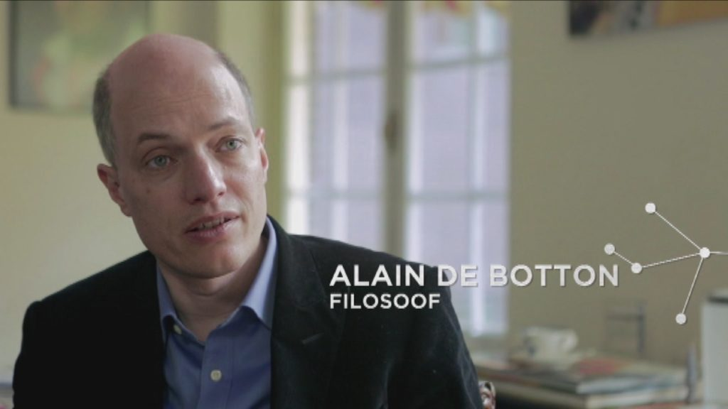 Voordeel van de twijfel - Aflevering 1 - Tegenslag - Alain de Botton - (c) VRT - Borgerhoff & Lamberigts