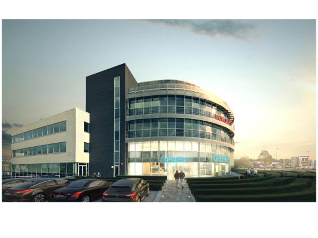 GROHE BeLux neemt intrek in nieuwe kantoren in Zaventem
