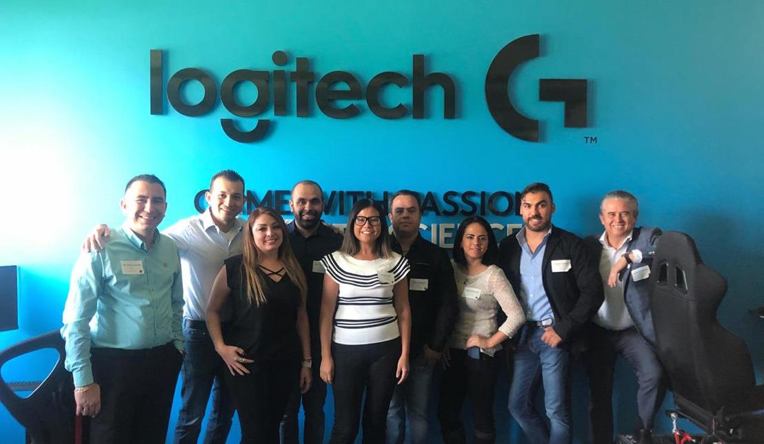 Logitech llevó a Suiza a su top de clientes ganadores del Programa Partners Club