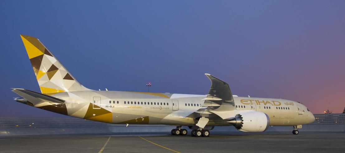 Nieuwe Dreamliner van Etihad Airways vliegt vanaf 1 augustus naar Singapore