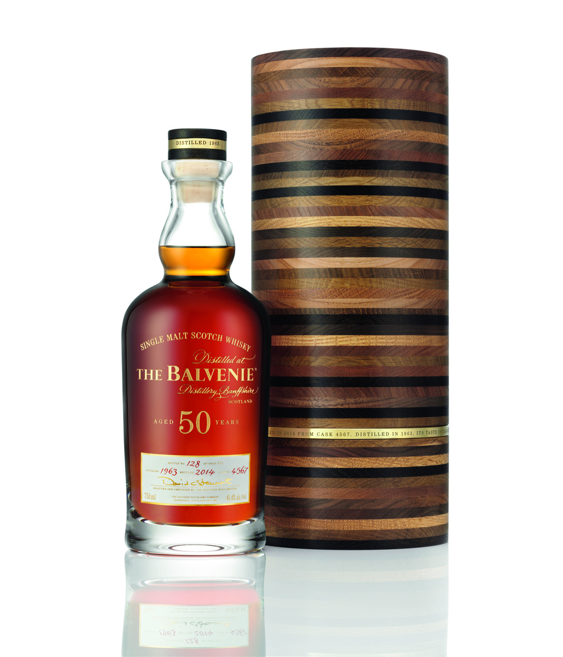 EXCLUSIVELY CRAFTED AND RARE, THE BALVENIE FIFTY: MARRIAGE 0962 MAKES ITS CANADIAN DEBUT THIS FALL