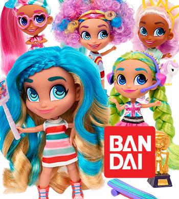 Preview: Bandai presenta Hairdorables de Just Play, las muñecas más divertidas para jugar a convertirse en una estrella de YouTube