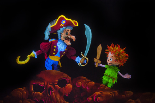 Peter Pan flies into the Center for Puppetry Arts, September 25-October 28
