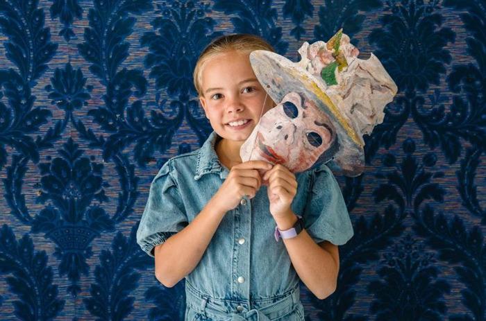 🎨 James Ensor op kindermaat 🎨