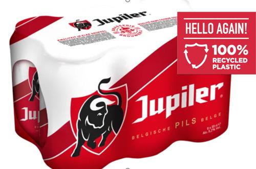 Geen nieuw plastic meer voor Jupiler verpakkingen