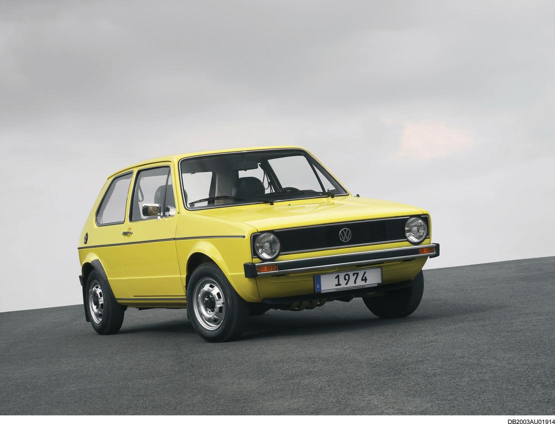 De Golf wordt 45: op 29 maart 1974 startte Volkswagen met de bouw van Europa's meest succesvolle auto