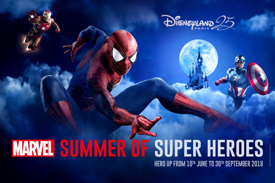 Marvel Summer of Super Heroes komt naar Disneyland® Paris in de zomer van 2018!