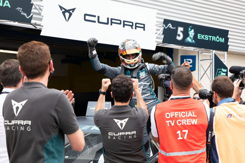 CUPRA wins the world's first all-electric touring car race