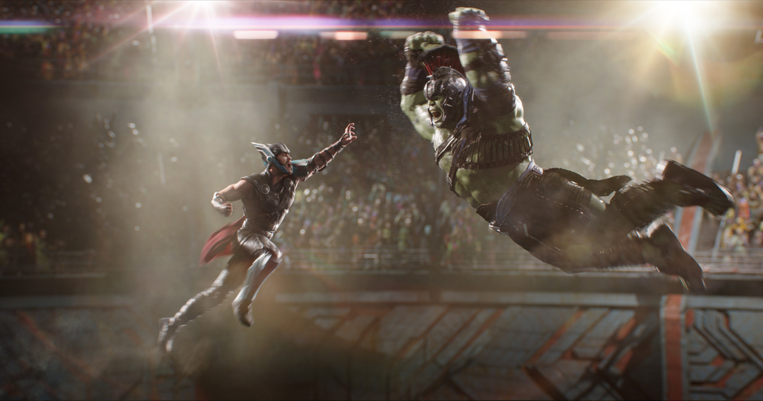 'Thor: Ragnarok' de Marvel en avant-première pendant FACTS dans le cinéma éphémère de Kinepolis!