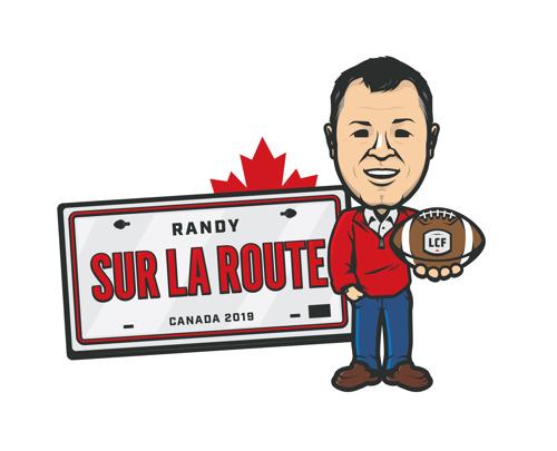Le commissaire Randy Ambrosie reprend la route pour visiter chacun des marchés de la LCF