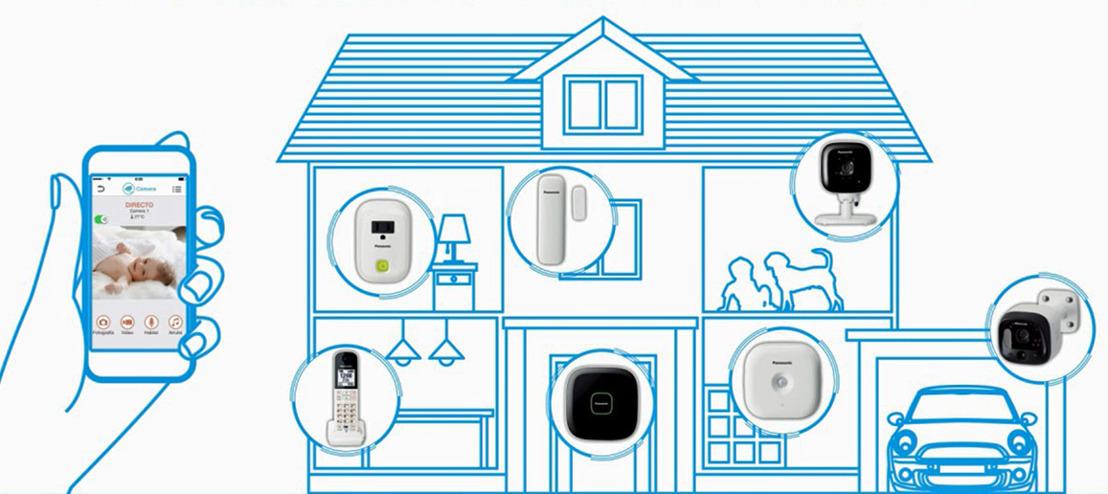 Siéntete seguro fuera de casa con Panasonic Home Network