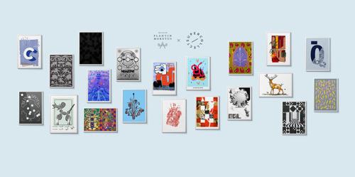 Kunstenaars ontwerpen print geïnspireerd op collectie van het Museum Plantin-Moretus