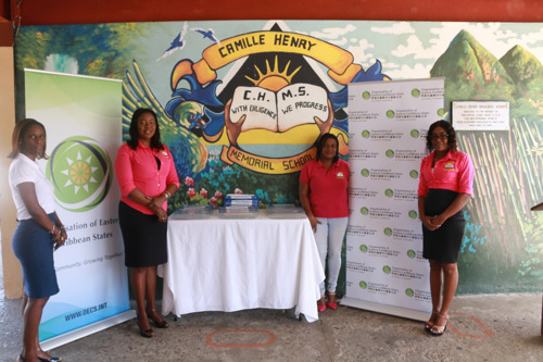 OECS Commission Partners with Camille Henry Memorial School