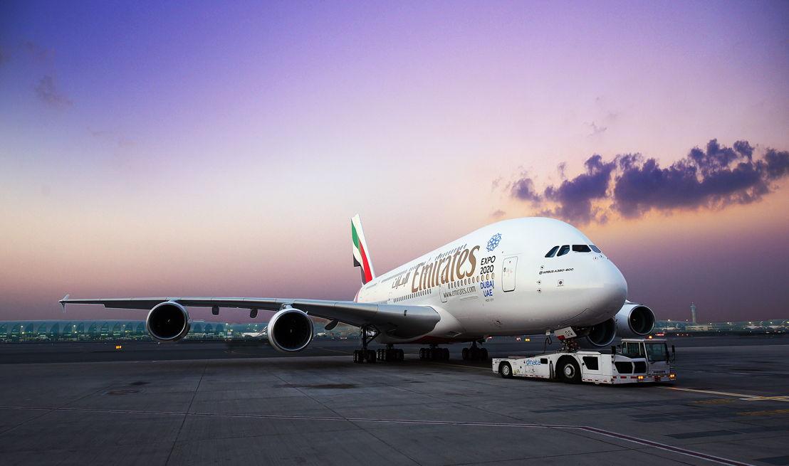 Emirates A380 dual-class configuration
