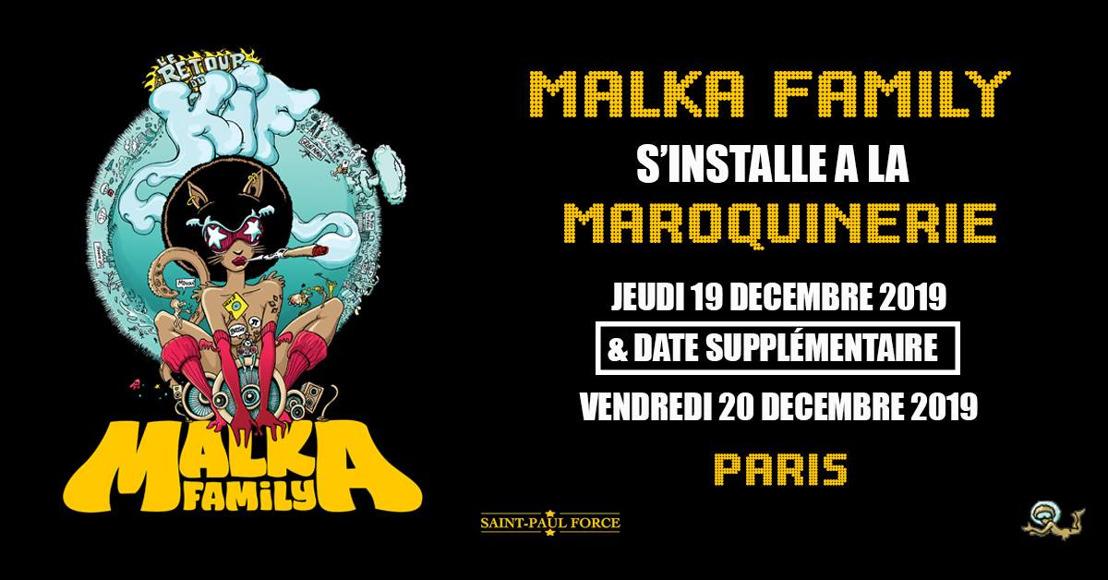 MALKA FAMILY : En concert à la Maroquinerie les 19 et 20 décembre !