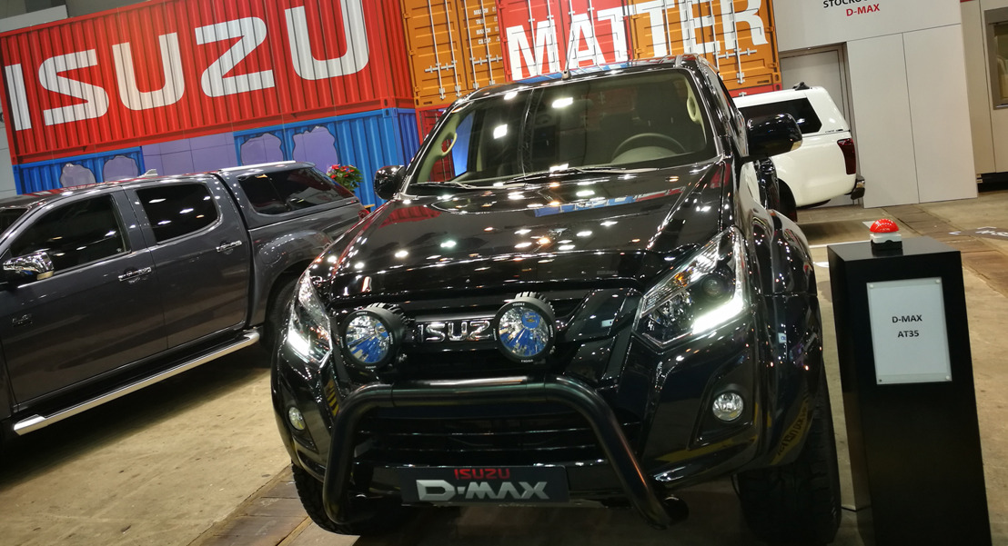 Isuzu lance le D-Max Arctic Truck au salon
