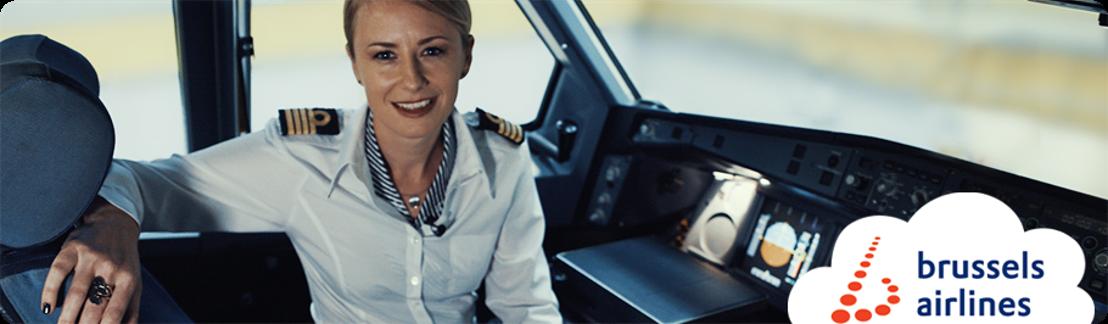 Brussels Airlines piloten en cabinepersoneel veilen een blik achter de schermen voor het goede doel