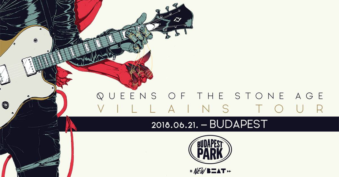 MA ESTE Queens Of The Stone Age-koncert a Budapest Parkban!