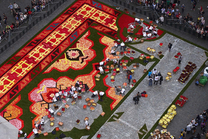 Save the date: Brussels unrolls its Flower Carpet from 16 to 19 August 2018