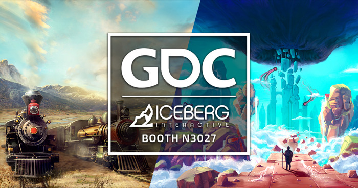 "ICEBERG INTERACTIVE SHOWCASING ""THE SOJOURN"" AND ""RAILROAD CORPORATION"" AT GDC 2019"