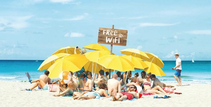 Sea, surf & sun avec Orange!