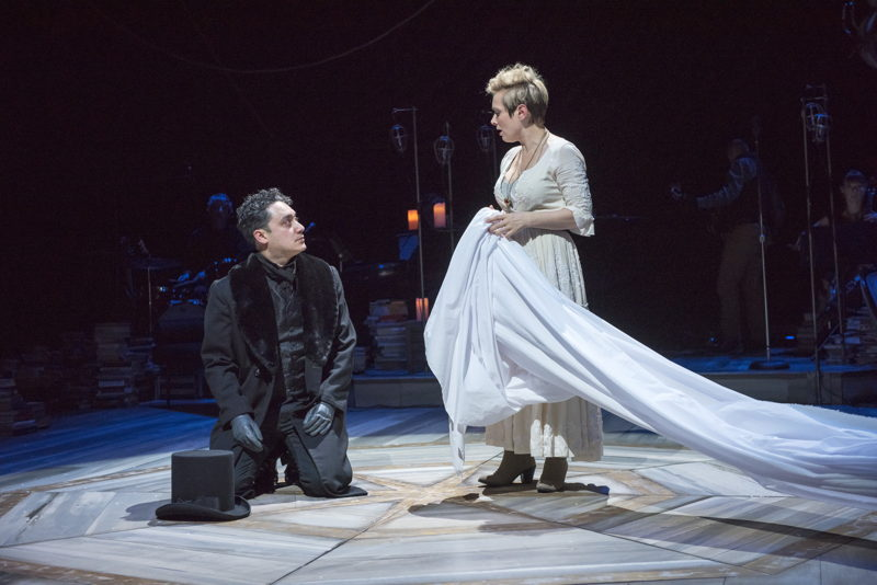 Alessandro Juliani and Meg Roe in Onegin. Photo by David Cooper