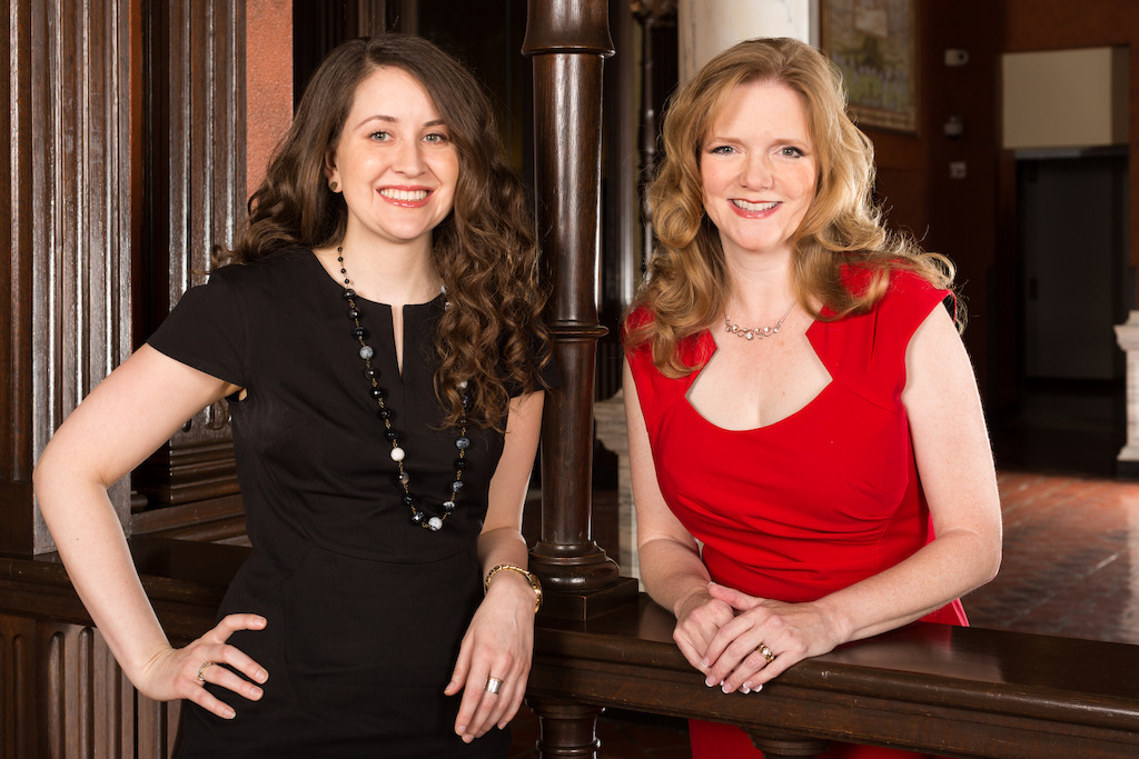 Amy Gibbs and Alecia Lawyer